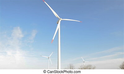 electric power production. - Windmills for electric power...