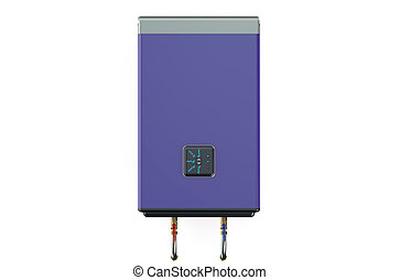 electric purple water heater or boiler