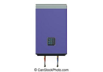 electric purple water heater or boiler