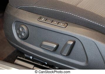 Electric seat adjustment