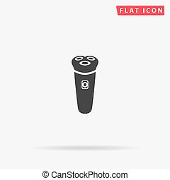 Electric Shaver flat vector icon