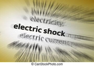 Electric Shock - Electric shock occurs upon contact with any...