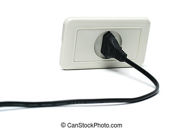 Electric socket and plug isolated