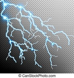 Electric Storm - lightning bolt. EPS 10