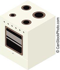 Electric stove icon