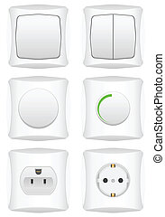 electric switch set