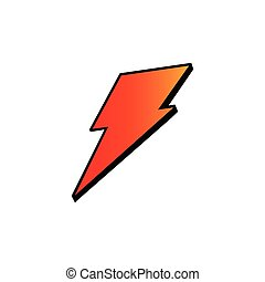 Electric symbol logo icon vector template