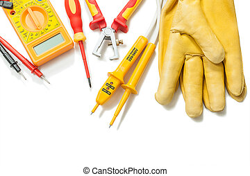 electric tester digital multimeter wire strippers ...