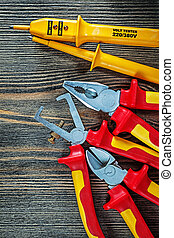 Electric tester insulated wire strippers cutting nippers ...