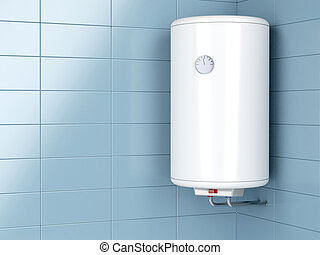 Electric water heater - Water heater in the bathroom
