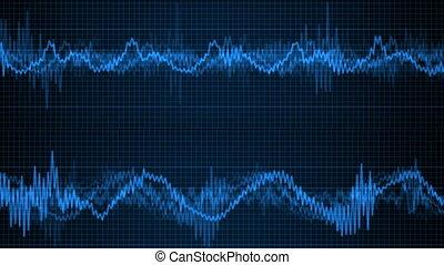 electric wave simulation