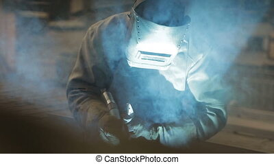 Electric welding for metal 6