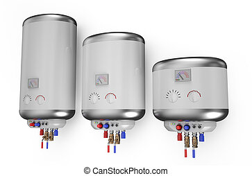 Electric white  boiler, water heater 2