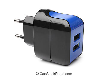 Electrical adapter to USB ports