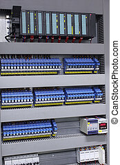 Electrical automation and control equipment in industrial...