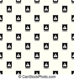 Electrical box pattern seamless vector