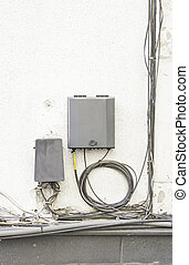 Electrical box - Safety and electricity supplies in urban...