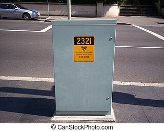 Electrical Box - picture of an electrical box situated on...