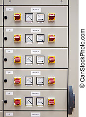 Electrical cubicle panel board
