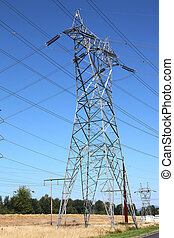 Electrical energy & delivery system - Tall towers...