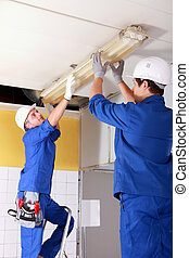 Electrical fitters