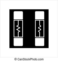 Electrical Fuse Icon