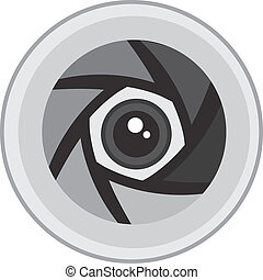Electrical Lens - Robotic lens of camera or other electronic
