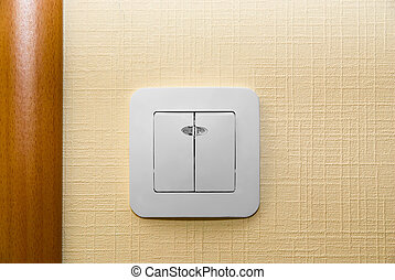Electrical light wall switch