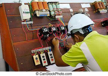 motor control wiring