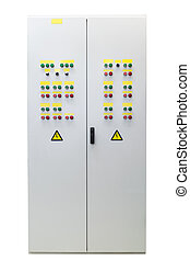 Electrical panel or Cabinet. Outdoor performance.