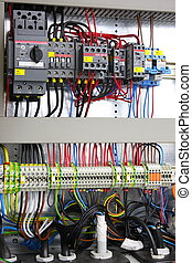 Electrical panel - New control panel with static energy...