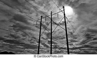 Electrical Poles Timelapse