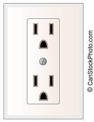electrical power outlet