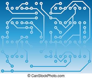 electrical scheme - Electric scheme for design use. Vector...