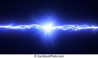 Electrical Spark Element - Short electrical discharge. Two ...