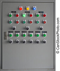 Electrical switch control box.