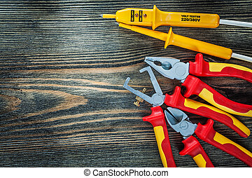 Electrical tester insulated wire strippers cutting nippers ...