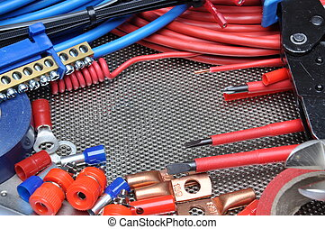 Electrical tools, component
