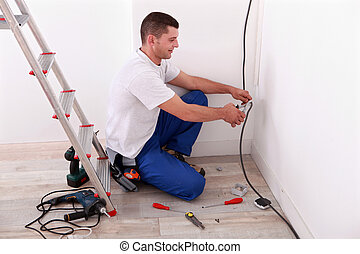Electrical wire cutting