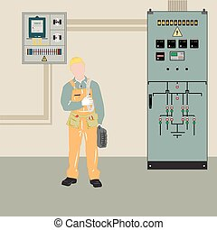 Electrician and equipment