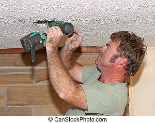 Electrician Drilling
