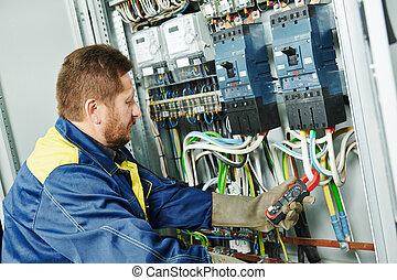 electrician engineer worker - adult electrician builder ...