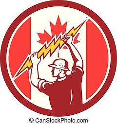electrician hold lightning bolt CIRCI GR-CAN-FLAG-ICON