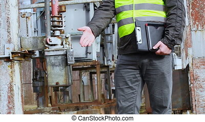 Electrician  in the electric substation episode 2