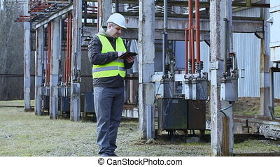 Electrician  in the electric substation episode 5