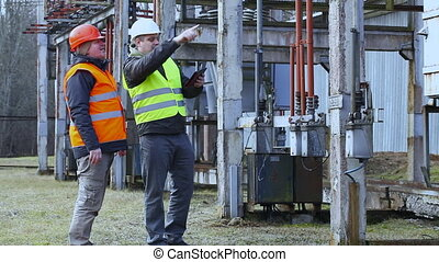 Electrician  in the electric substation episode 7