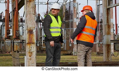 Electrician  in the electric substation episode 9