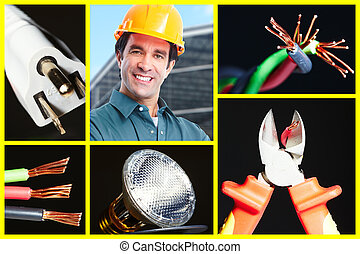 Electrician man.