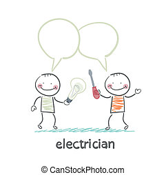 electricians talk about work