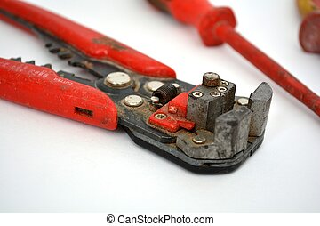 electricians wire cutters